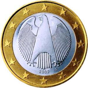 Дизайн немецких евро монет