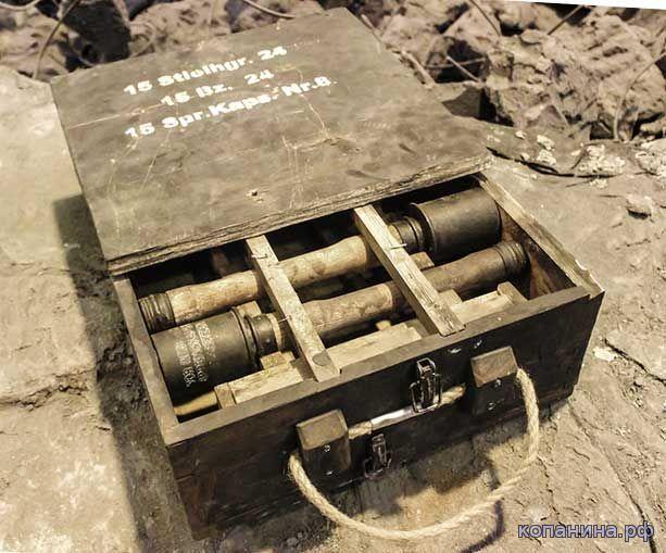 ящик для немецких гранат колотушек м24