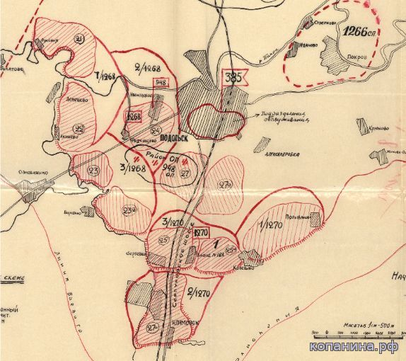 Скачать военные карты и схемы боев Московской области