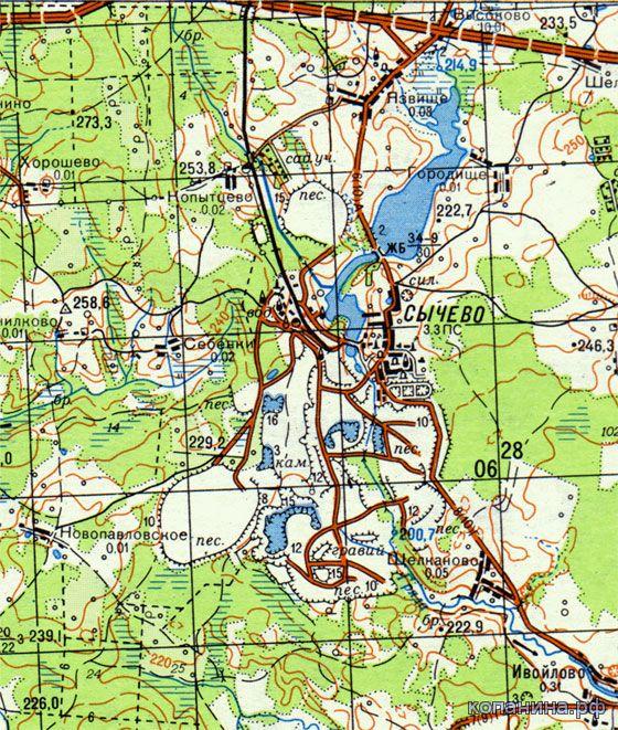 Скачать карту москвы и московской области