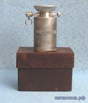 Немецкая мина из 200 грамовой шашки и нажимного взрывателя DZ-35