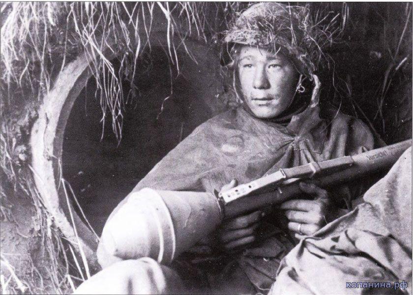 Немецкий солдат с панцерфауст