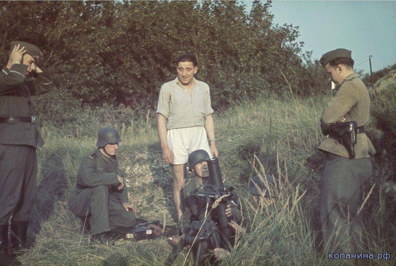 цветные фотографии второй мировой войны