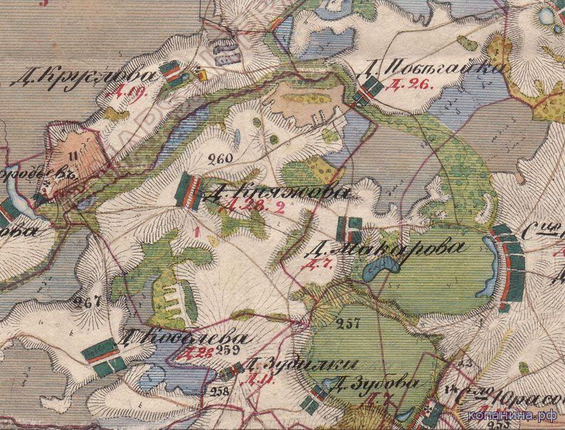 Старинная карта нижегородской губернии скачать