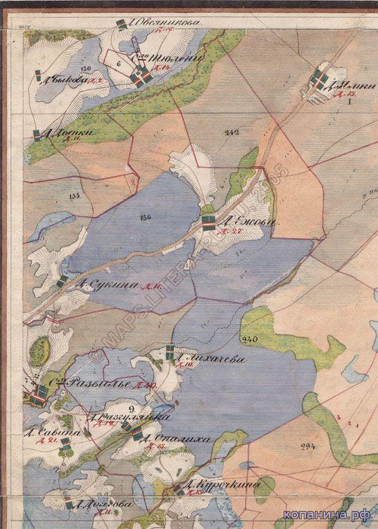 старинная карта менде нижегородской губернии скачать 19 век