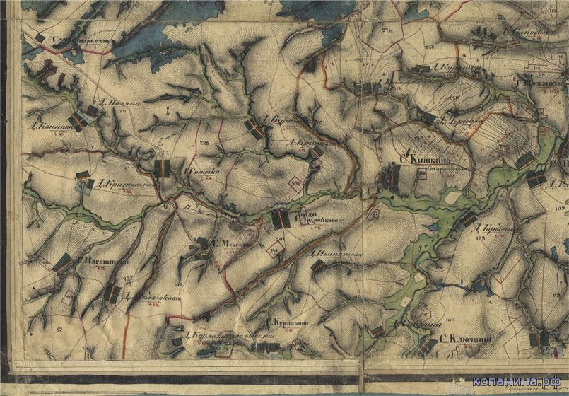 Старая карта нижегородской губернии скачать