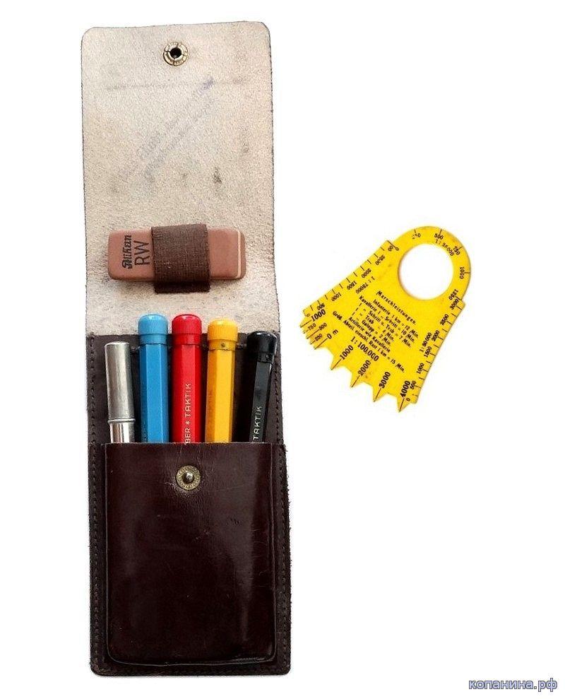 набор цветных карандашей вермахт