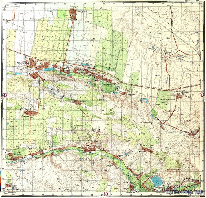 карта украины 1см 500м скачать
