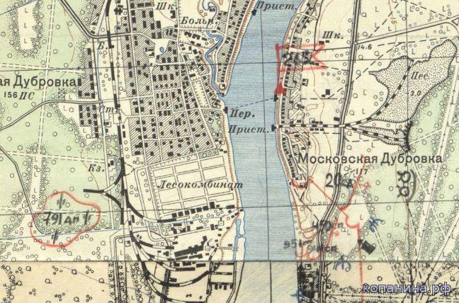 Военные карты Ленинградской области