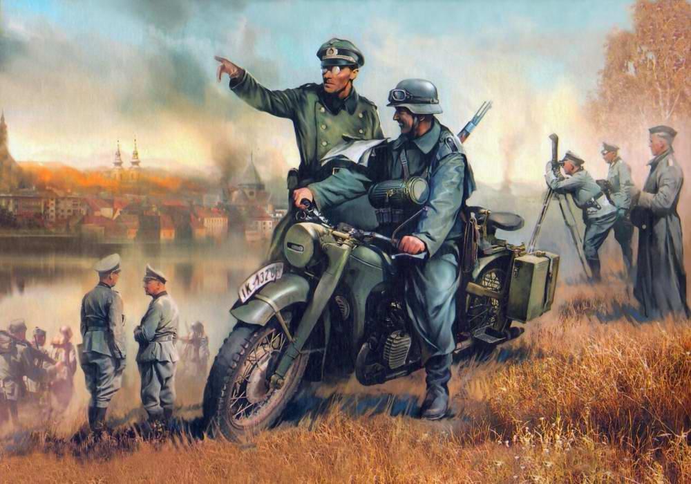 немецкий байк БМВ Р-12 (Иван Хивренко)