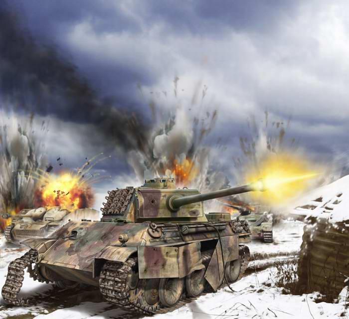 Разгром танков SS