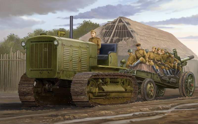 Артиллерийский локомотив Сталинец КАРТИНЫ ВТОРОЙ МИРОВОЙ ВОНЙЫ