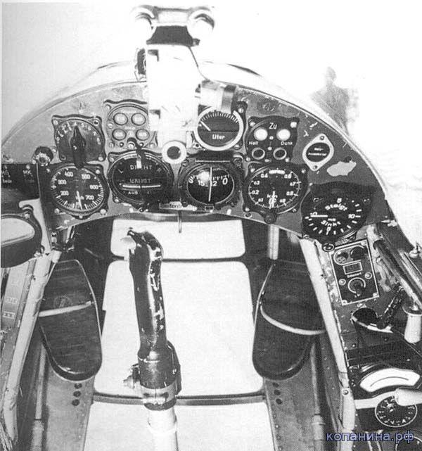 приборная доска Fw.187a-0