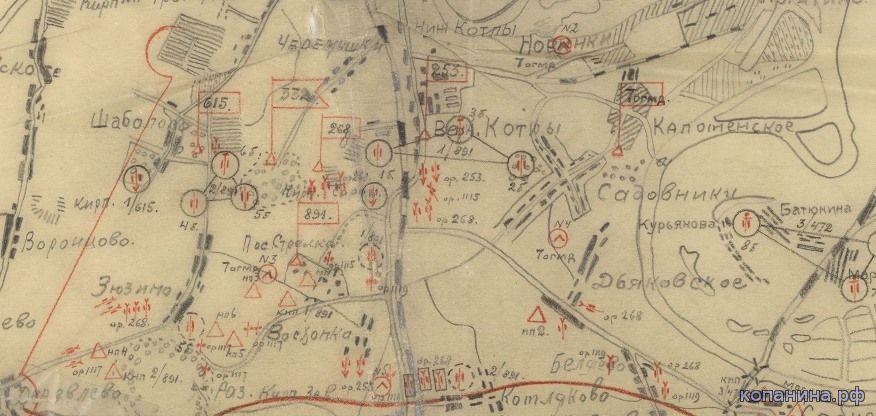 Военные схемы и карты. Москва и область