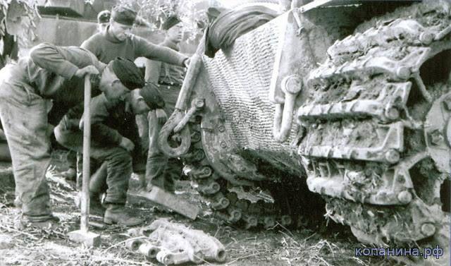 немецкий танк Тигр