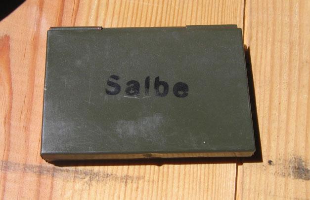 немецкая коробочка с мазями из медицинского набора вермахт