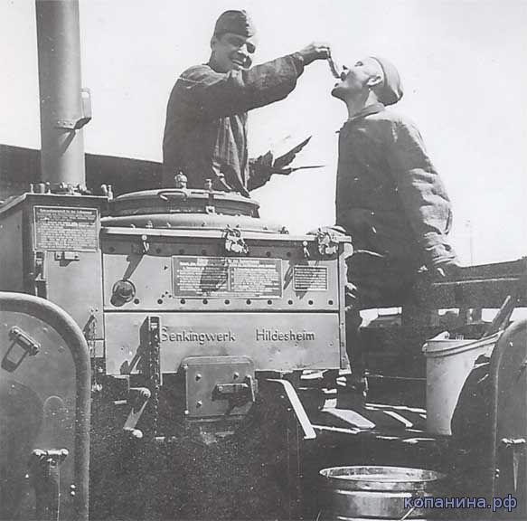 полевые кухни немецкой армии во второй мировой войне