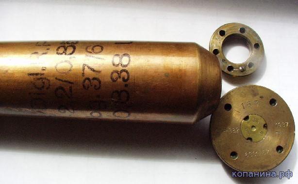 Сборная гильза 6331\67 к немецкой ПТП PAK 3.7cm