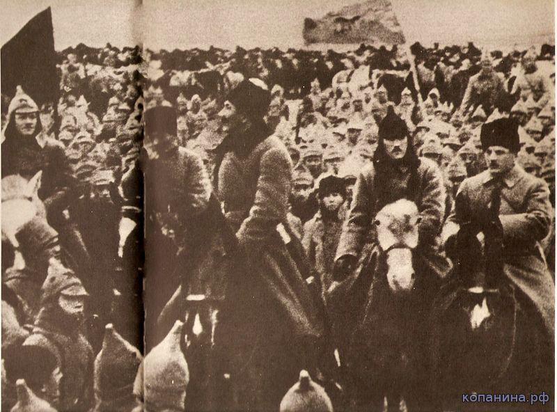 командиры первой конной армии