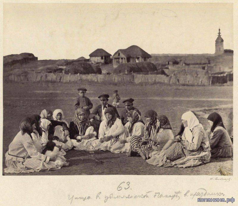 Цымлянская в 19веке
