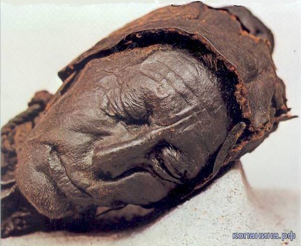 человеческие мумии из европейских болот