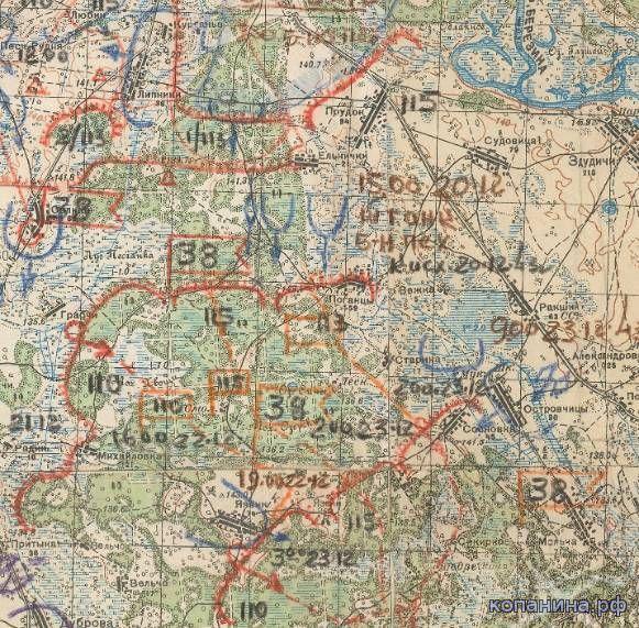 Военные карта красной армии километровки генштаб