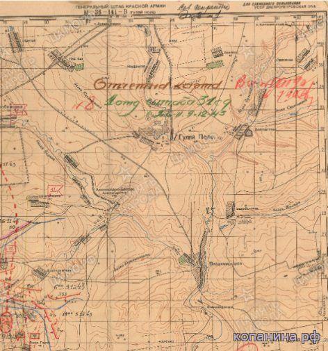 военные карты ркка из ЦАМО скачать