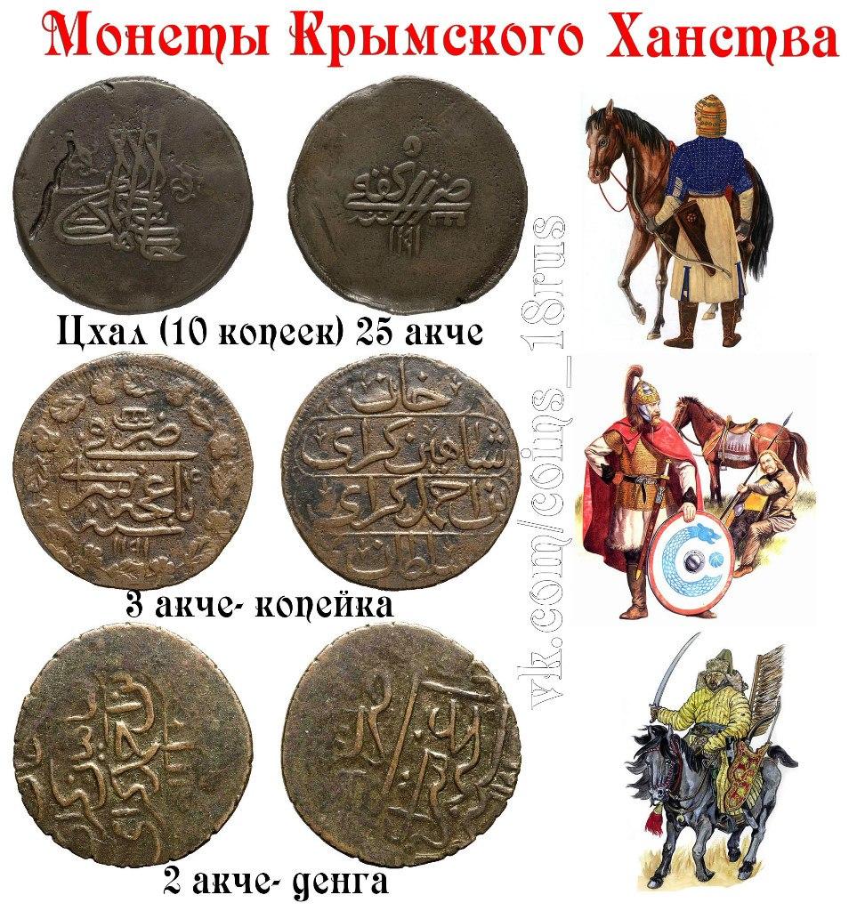 Монеты Крымского ханства