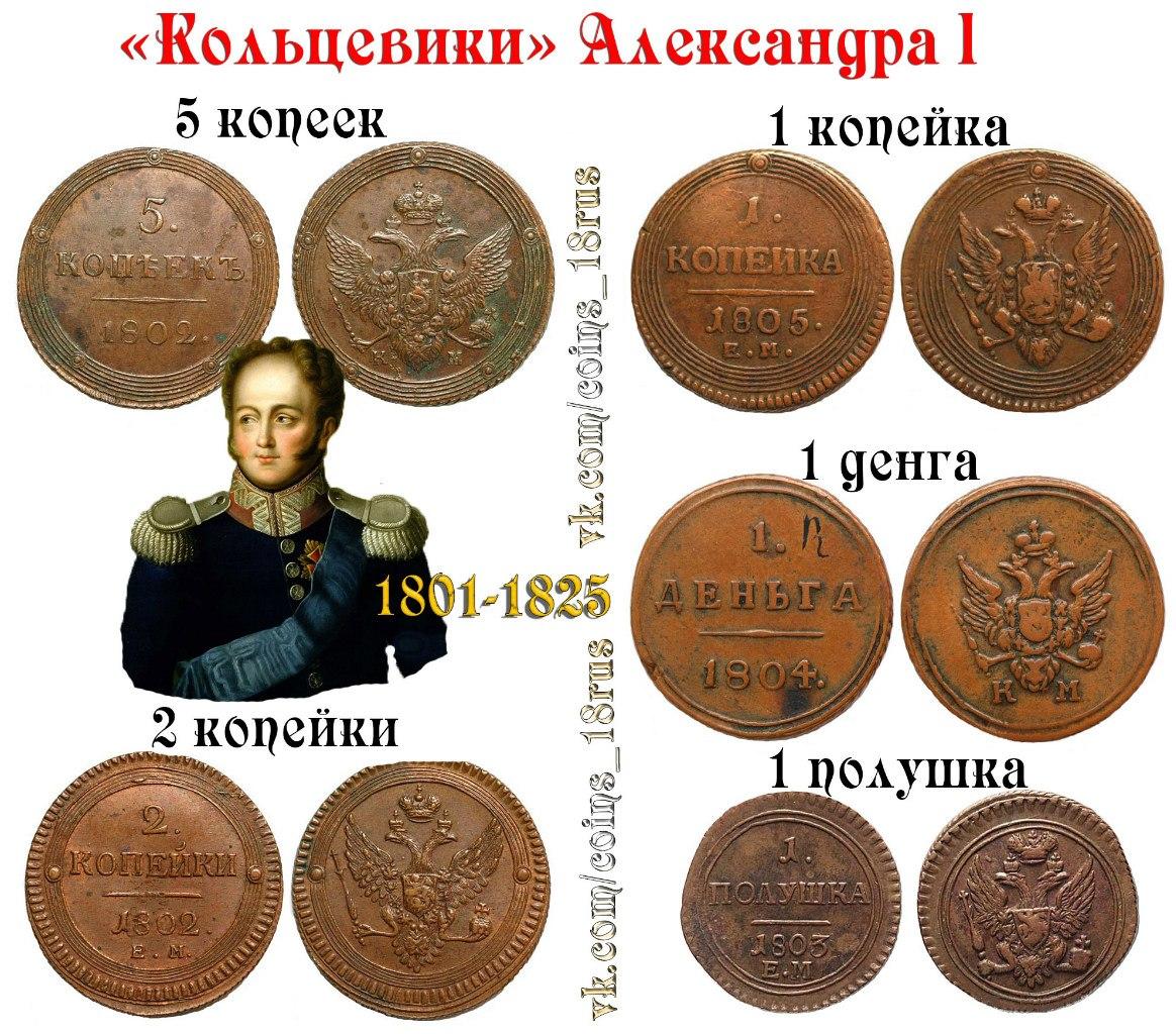 Монеты кольцевики Александра