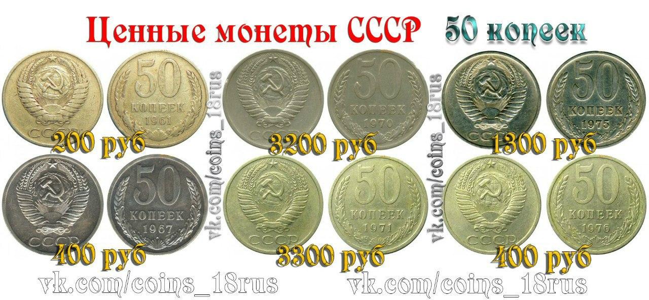 цены фото и ссср и россии дорогие монеты