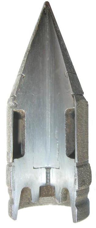 немецкий учебный бронебойный снаряд 3.7cm PZGR 40 UB
