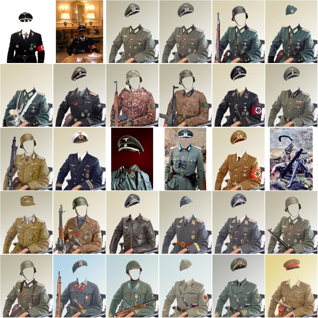 шаблоны военной формы вс рф для фотошопа