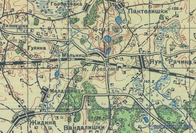 Старая карта Беларуси скачать