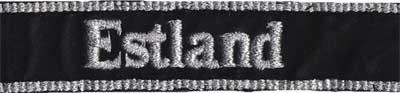 нарукавная лента эстонского легиона сс