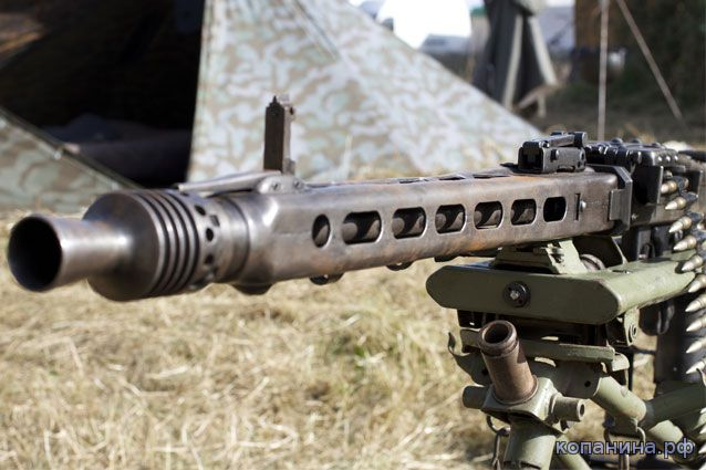 фотографии немецких пулеметов