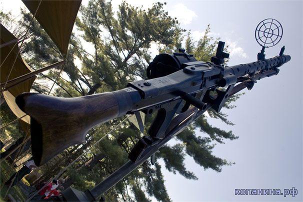 Немецкие Пулеметы Mg