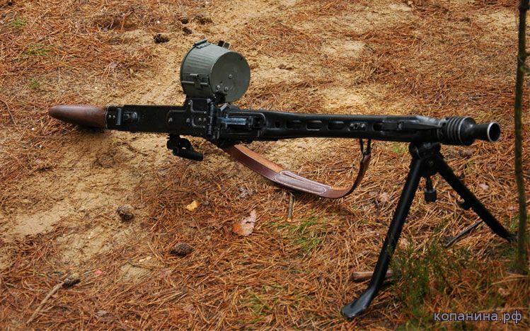 фотографии немецкого пулемета