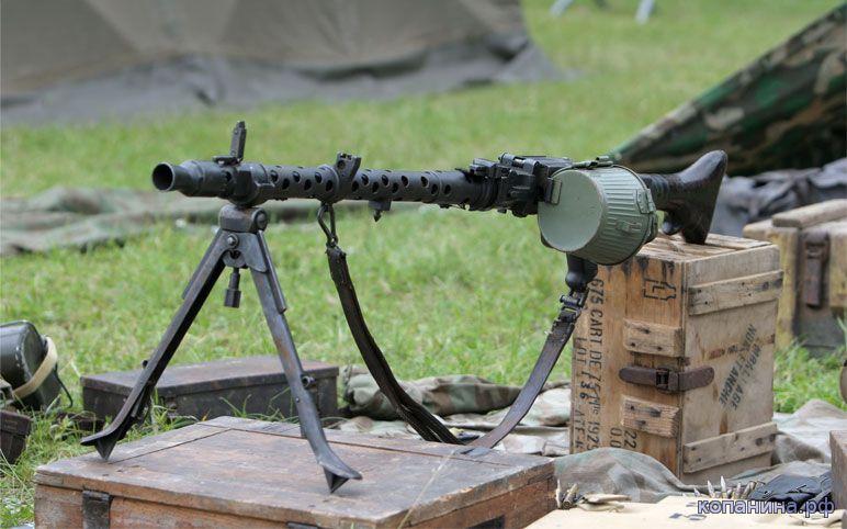 обои на рабочий стол - немецкие пулеметы второй мировой