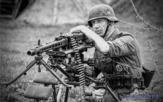обои - оружие вторая мировая пулемет мг
