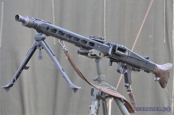 скачать обои вторая мировая пулемет MG42