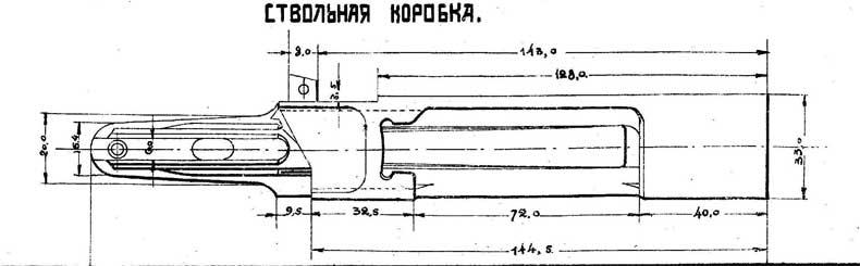 Чертеж винтовки маузер 1896