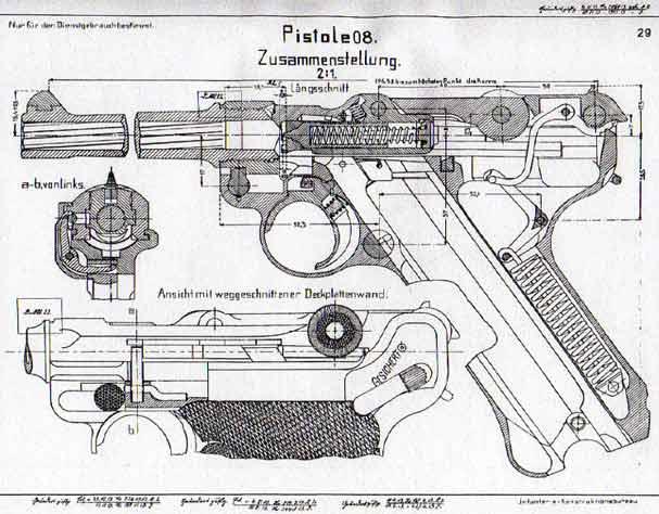 Чертежи оружия - немецкий
