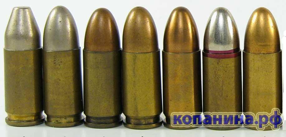 патроны 9-мм парабеллум 9mm PARA