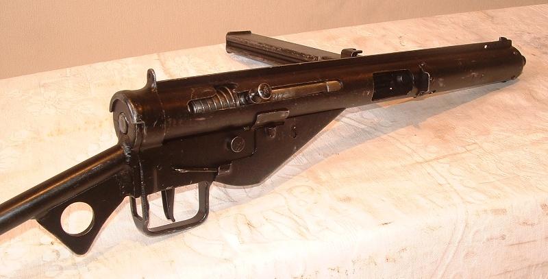 Чертежи пистолета-пулемета