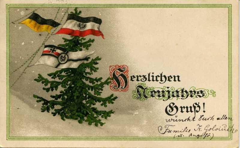 Как сделать открытку на немецком
