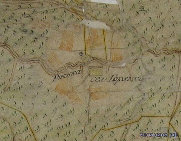 старинные карты московской области губернии