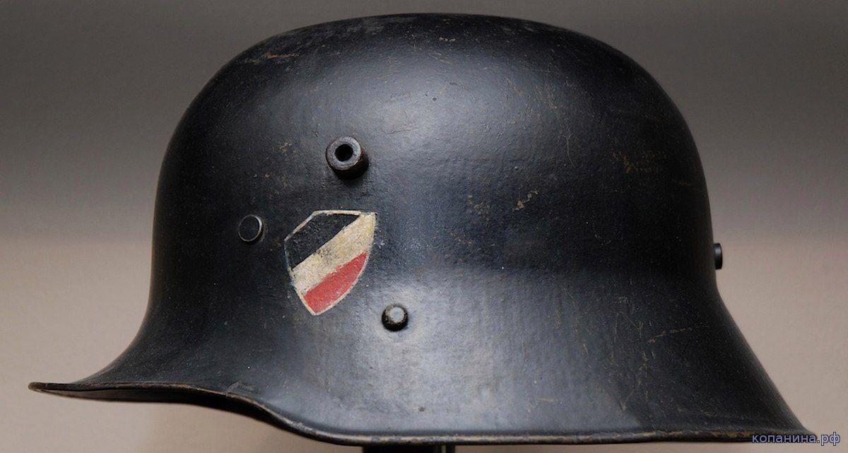 ранний рогатый шлем сс