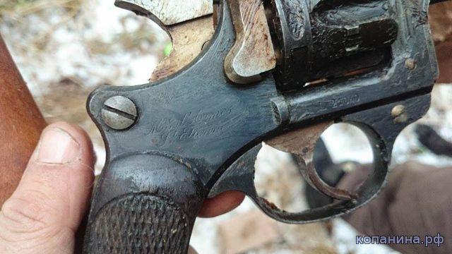 немецкий тайник с оружием - находка копателей