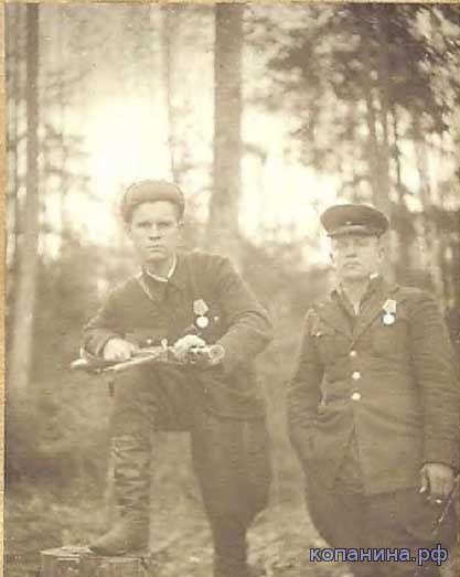 командиры партизанский отряд искра