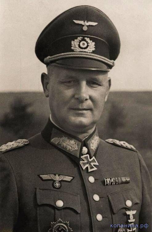 Густав Шмидт - генерал-лейтенант, командующий 19 танковой дивизии вермахта